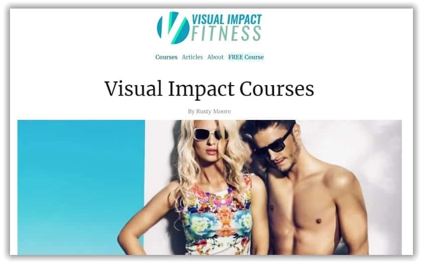 visual impact fitness blog